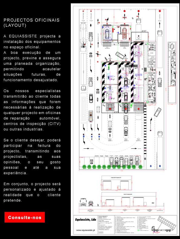 rojectos oficinais - layout equiassiste